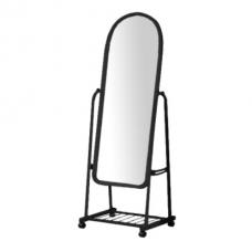 А45 Зеркало в рамке напольное на колесах